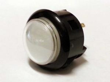 OBSF-30Q BLACK, 30mm Dome Button, Arcade Buttons, VideoGamesNewYork, VGNY