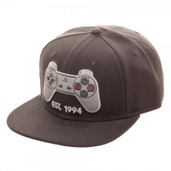 ceafd2ad10c Mortal Kombat Logo Snapback - Videogamesnewyork
