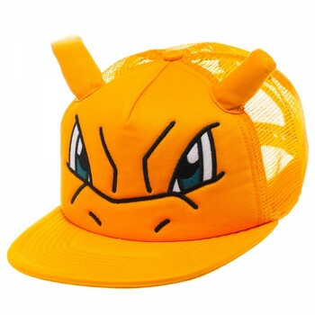 Pokemon Charizard Big Face Trucker