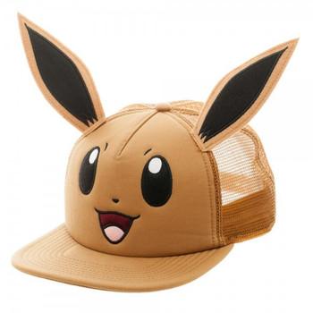 Pokemon Eevee Big Face Trucker Snapback
