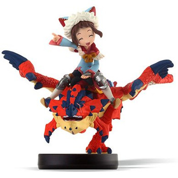 Amiibo Monster Hunter Stories One-Eyed Rathalos and Rider (Girl) - Japanese Release