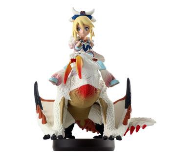 Amiibo Barioth (Glacier) & Ayuria Monster Hunter Stories - Japan Import
