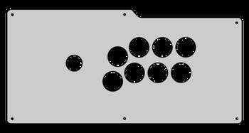 Qanba Carbon Plexi Overlay