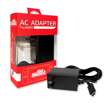 Nintendo Switch OldSkool AC Adapter [SUPPORTS DOCK] (Nintendo Switch)