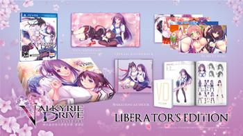 Valkyrie Drive: Bhikkhuni Liberator's Edition - US Version - PlayStation Vita, VideoGamesNewYork, VGNY