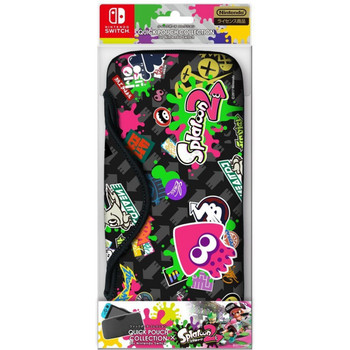 QUICK POUCH FOR NINTENDO SWITCH (SPLATOON 2 TYPE B)