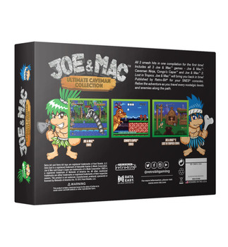 Joe & Mac: Ultimate Caveman Collection [Super Nintendo]