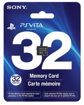 32GB PlayStation Vita Memory Card, PlayStation Vita, VideoGamesNewYork, VGNY