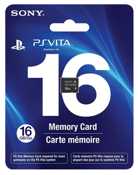 16GB PlayStation Vita Memory Card, PlayStation Vita, VideoGamesNewYork, VGNY