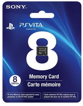 8GB PlayStation Vita Memory Card, PlayStation Vita, VideoGamesNewYork, VGNY