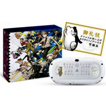 PlayStation Vita Slim DANGANRONPA V3 GLACIER WHITE LIMITED EDITION [JAPAN], PlayStation Vita, VideoGamesNewYork, VGNY
