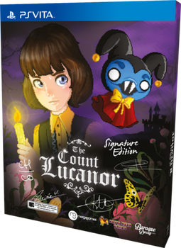 THE COUNT LUCANOR - SIGNATURE EDITION (PS VITA), PlayStation Vita, VideoGamesNewYork, VGNY