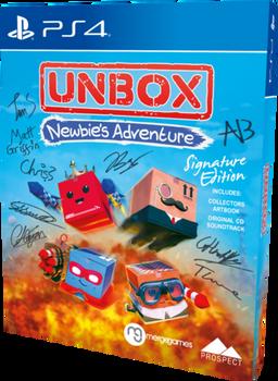UNBOX: NEWBIE'S ADVENTURE - SIGNATURE EDITION (PS4)