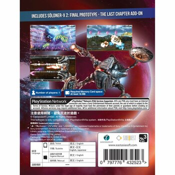Soldner-X 2: Final Prototype (English) PlayStation Vita (Asian Version)