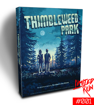 Thimbleweed Park LRG #001 BIG BOX EDITION [Nintendo Switch]