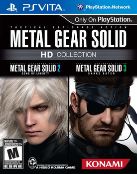 Metal Gear Solid HD Collection, PlayStation Vita, VideoGamesNewYork, VGNY