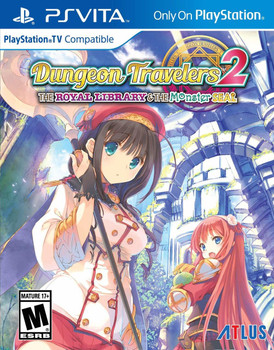 Dungeon Travelers 2: The Royal Library & the Monster Seal, PlayStation Vita, VideoGamesNewYork, VGNY