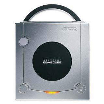 Nintendo GameCube System SILVER [DOL-001 w/ Digital Port]