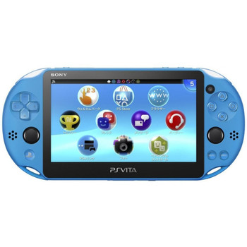 PlayStation Vita Slim 2000 [Aqua Blue] PCH-2000, PlayStation Vita, VideoGamesNewYork, VGNY