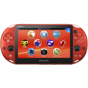 PlayStation Vita Slim 2000 [METALLIC RED] PCH-2000, PlayStation Vita, VideoGamesNewYork, VGNY