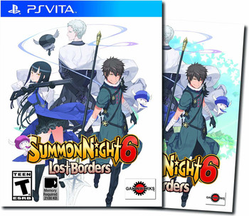 Summon Night 6: Lost Borders - PlayStation Vita, VideoGamesNewYork, VGNY