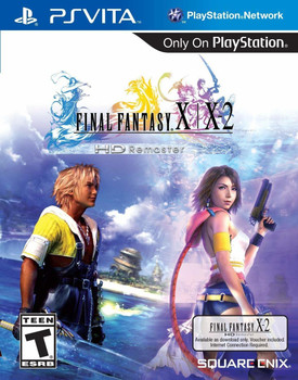 FINAL FANTASY X|X-2 HD Remaster - PlayStation Vita, VideoGamesNewYork, VGNY