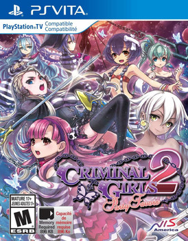 Criminal Girls 2: Party Favors - PlayStation Vita, VideoGamesNewYork, VGNY