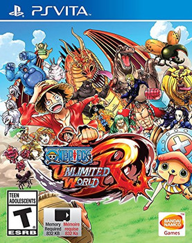 One Piece Unlimited World Red - Playstation Vita, VideoGamesNewYork, VGNY