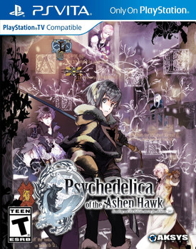 Psychedelica of the Ashen Hawk - PlayStation Vita, VideoGamesNewYork, VGNY