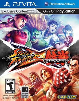Street Fighter X Tekken - PlayStation Vita, VideoGamesNewYork, VGNY