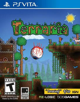 Terraria - PlayStation Vita, VideoGamesNewYork, VGNY