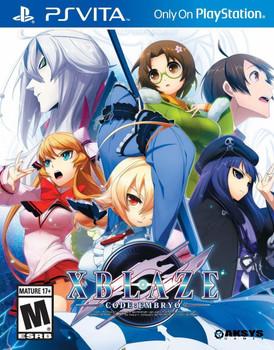 Xblaze Code:Embryo - PlayStation Vita, VideoGamesNewYork, VGNY