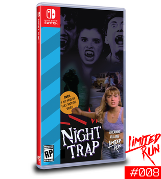 Night Trap 25th Anniversary Edition LRG #008 [Nintendo Switch]