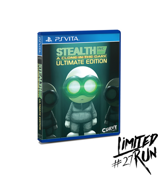 LIMITED RUN #27: STEALTH INC. ULTIMATE EDITION (VITA), PlayStation Vita, VideoGamesNewYork, VGNY
