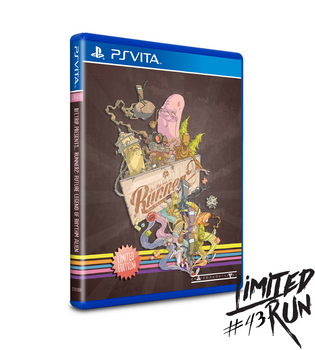 LIMITED RUN #43: RUNNER2 (VITA), PlayStation Vita, VideoGamesNewYork, VGNY