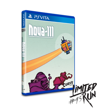 LIMITED RUN #45: NOVA-111 (VITA), PlayStation Vita, VideoGamesNewYork, VGNY