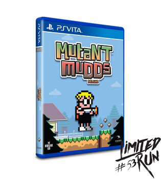 LIMITED RUN #53: MUTANT MUDDS DELUXE (VITA), PlayStation Vita, VideoGamesNewYork, VGNY