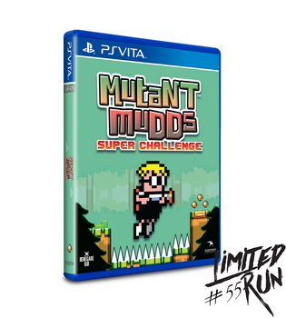 LIMITED RUN #55: MUTANT MUDDS SUPER CHALLENGE (VITA), PlayStation Vita, VideoGamesNewYork, VGNY