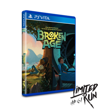 LIMITED RUN #61: BROKEN AGE (VITA), PlayStation Vita, VideoGamesNewYork, VGNY