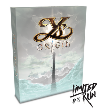 LIMITED RUN #81: YS ORIGIN COLLECTOR'S EDITION (VITA), PlayStation Vita, VideoGamesNewYork, VGNY