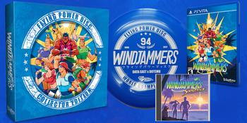WINDJAMMERS COLLECTOR'S EDITION (VITA) LIMITED RUN #91, PlayStation Vita, VideoGamesNewYork, VGNY