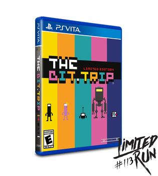 THE BIT.TRIP (VITA) LIMITED RUN #113, PlayStation Vita, VideoGamesNewYork, VGNY
