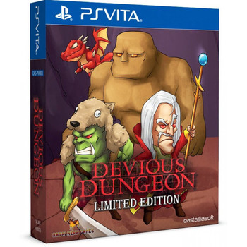 DEVIOUS DUNGEON [LIMITED EDITION],  PlayStation Vita, VideoGamesNewYork, VGNY