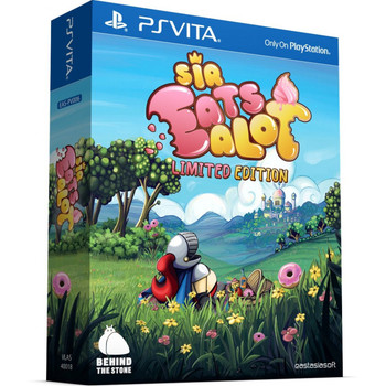 SIR EATSALOT [LIMITED EDITION],  PlayStation Vita, VideoGamesNewYork, VGNY