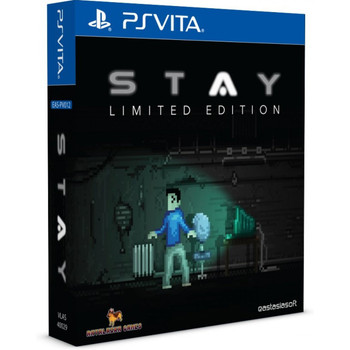 STAY [LIMITED EDITION] , PlayStation Vita, VideoGamesNewYork, VGNY