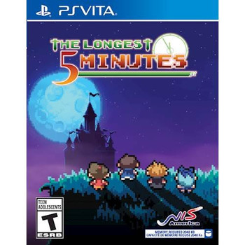 The Longest 5 Minutes - PlayStation Vita, VideoGamesNewYork, VGNY