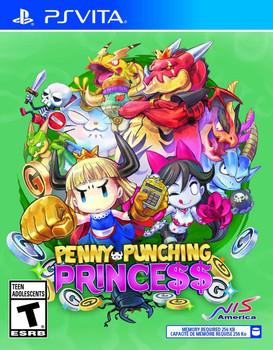 Penny-Punching Princess - PlayStation Vita, VideoGamesNewYork, VGNY