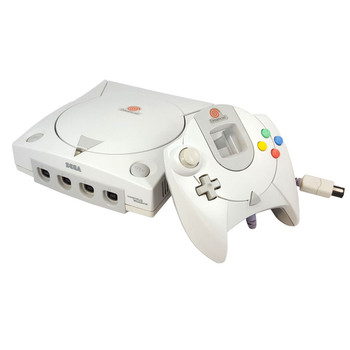 Sega Dreamcast System - With Controller at VideoGamesNewYork, VGNY