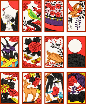 Hanafuda Flower of the City [RED] Nintendo