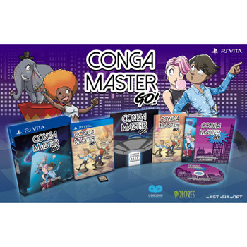 CONGA MASTER GO! [LIMITED EDITION] , PS Vita Games, PS Vita Imports, VideoGamesNewYork, VGNY